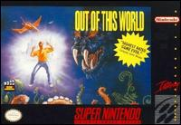 Caratula de Out of This World para Super Nintendo