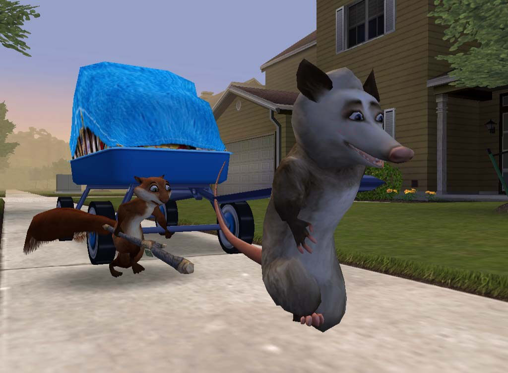 Pantallazo de Over the Hedge (Vecinos Invasores) para PC