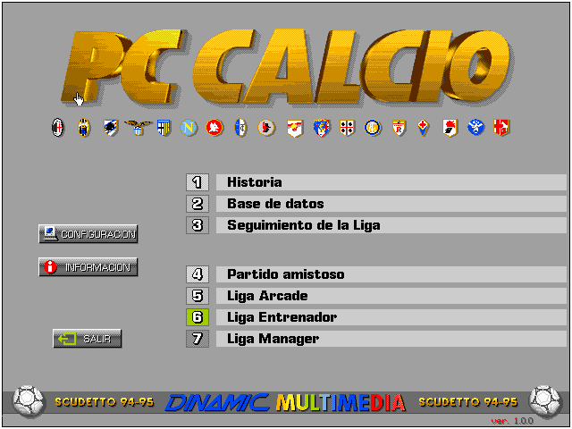Pantallazo de PC Calcio 1.0 para PC