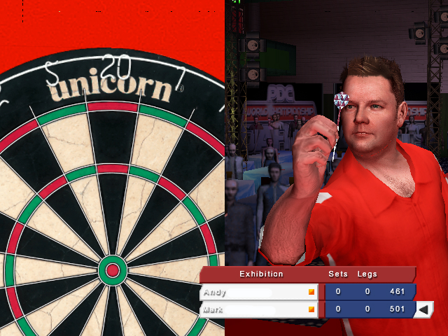 Pantallazo de PDC World Championship Darts 2008 para PlayStation 2