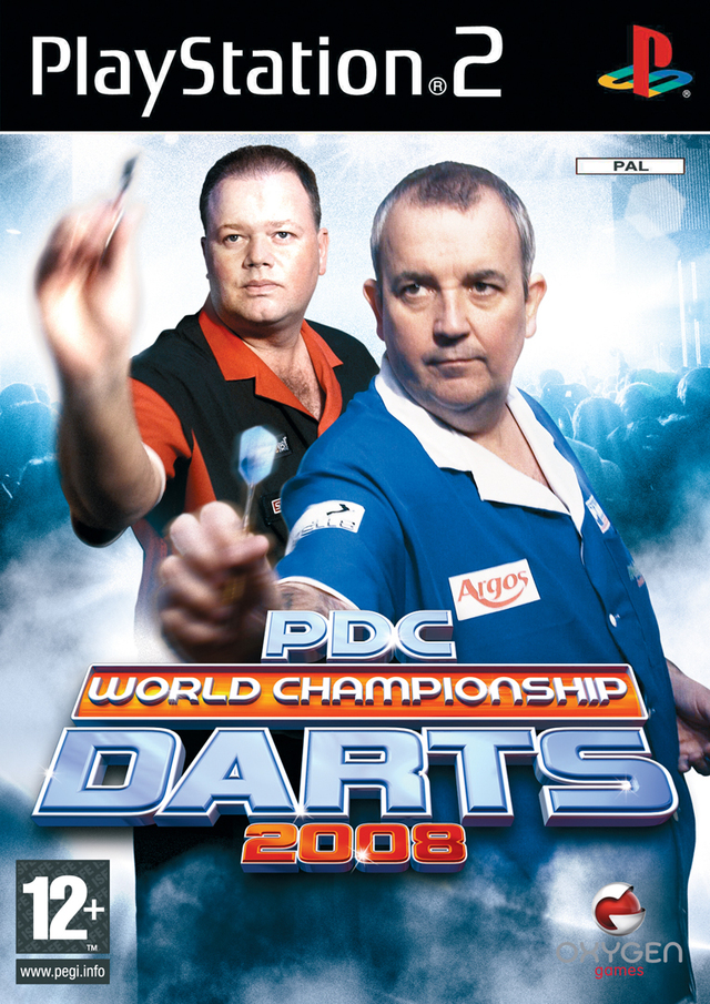Caratula de PDC World Championship Darts 2008 para PlayStation 2