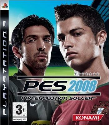 Caratula de PES 2008: Pro Evolution Soccer para PlayStation 3