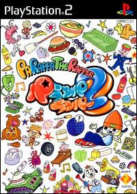 Caratula de PaRappa the Rapper 2 (Japonés) para PlayStation 2