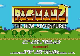 Pantallazo de Pac-Man 2: The New Adventures para Sega Megadrive