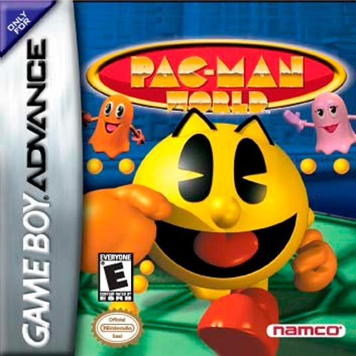 Caratula de Pac-Man World para Game Boy Advance