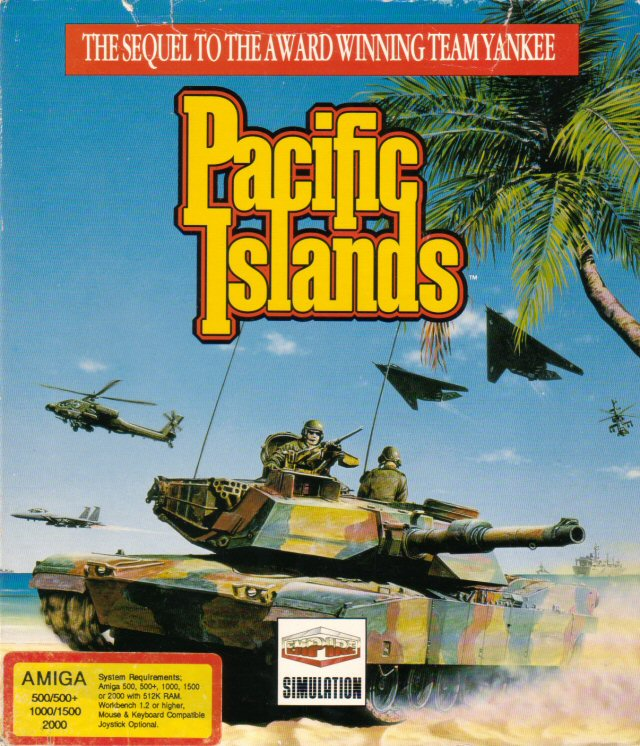 Caratula de Pacific Islands para Amiga