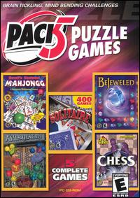 Caratula de Pack 5 Habilidad Games para PC