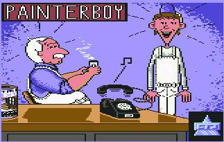 Pantallazo de Painterboy para Commodore 64