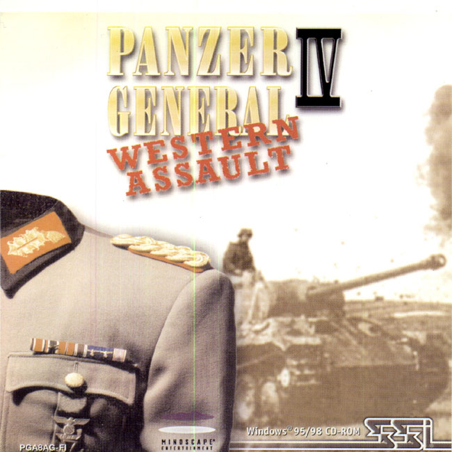 Caratula de Panzer General 4: Western Assault para PC