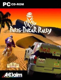 Caratula de Paris-Dakar Rally para PC