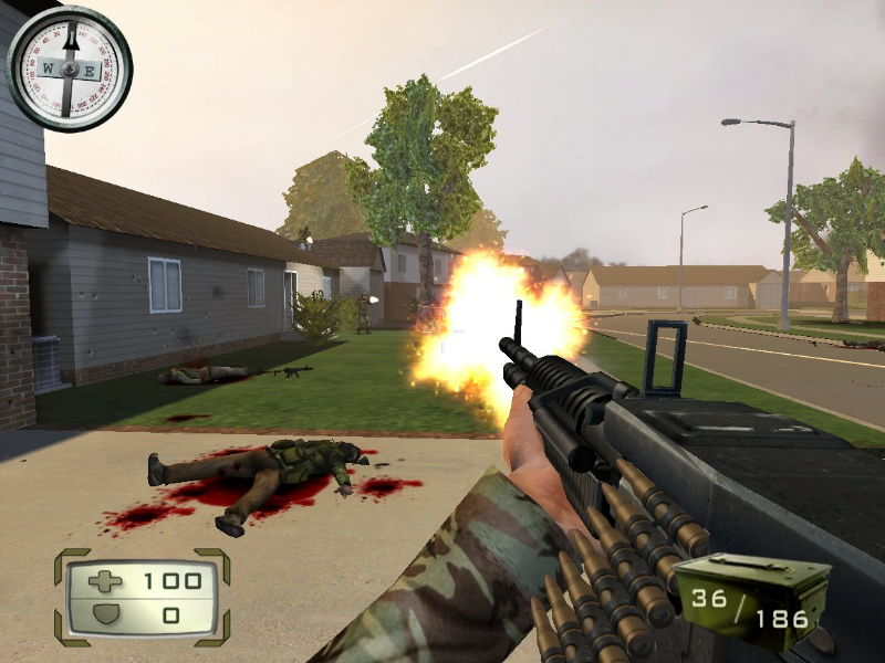Pantallazo de Patriots: A Nation under Fire para PC