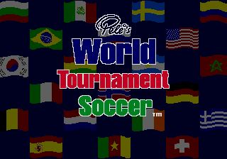 Pantallazo de Pele II: World Tournament Soccer para Sega Megadrive