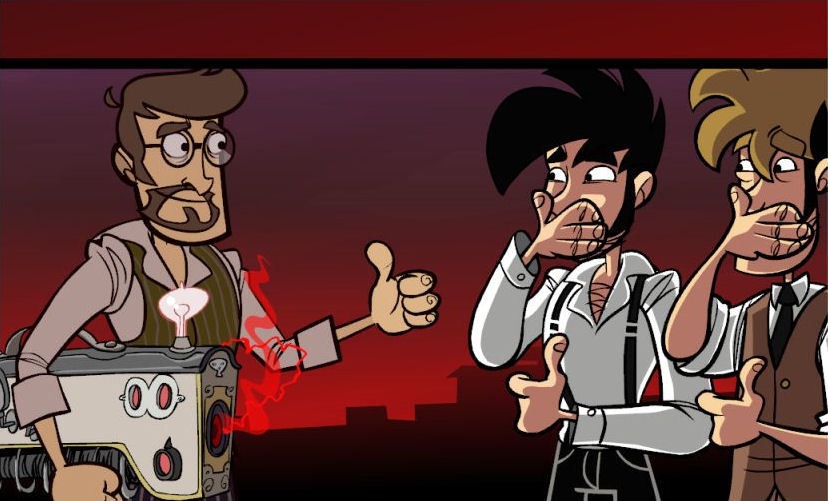 Pantallazo de Penny Arcade Adventures: On the Rain-Slick Precipice of Darkness Episode One para PlayStation 3