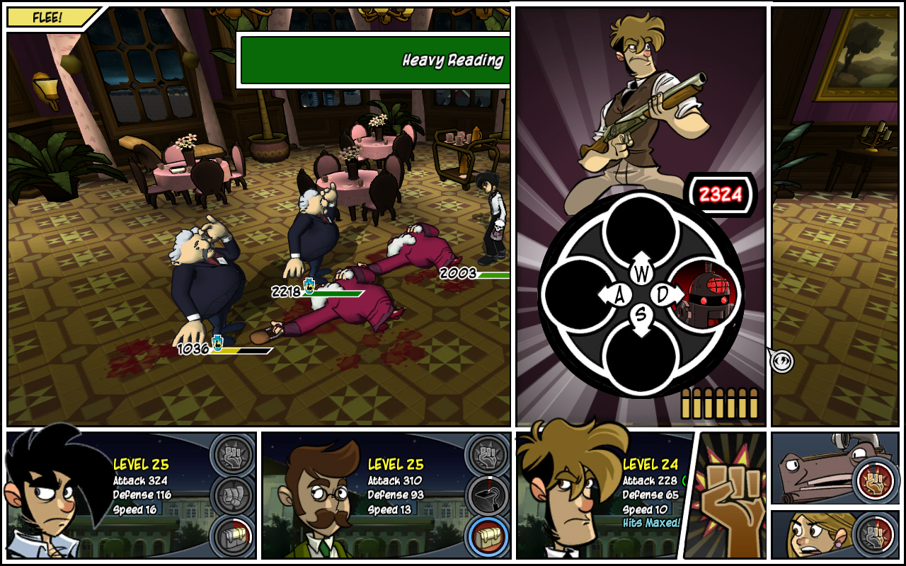Pantallazo de Penny Arcade Adventures: On the Rain-Slick Precipice of Darkness Episode Two para Xbox 360