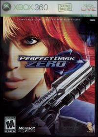 Caratula de Perfect Dark Zero: Limited Collector's Edition para Xbox 360