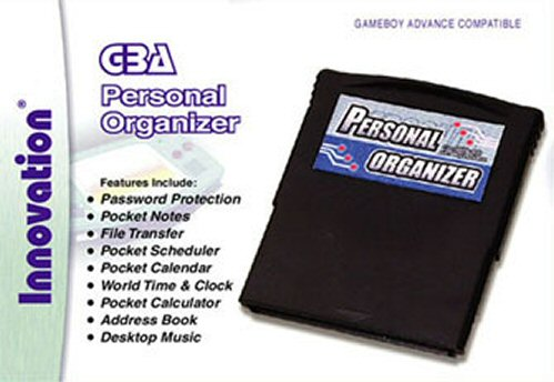 Caratula de Personal Organizer PDA para Game Boy Advance