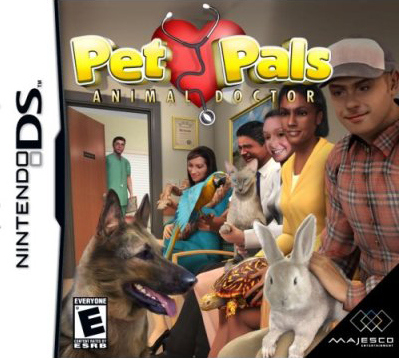 Caratula de Pet Pals: Animal Doctor para Nintendo DS