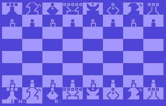 Pantallazo de Petchess 4000 para Commodore 64