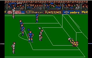 Pantallazo de Peter Beardsley's International Football para Atari ST