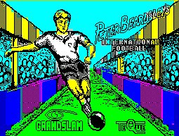 Pantallazo de Peter Beardsley's International Football para Spectrum