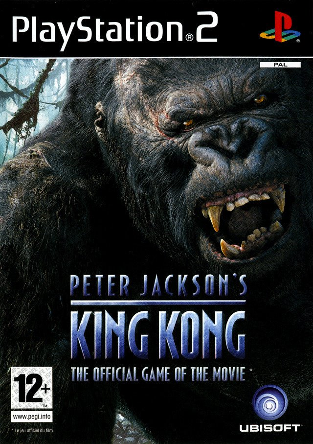Caratula de Peter Jackson's King Kong: The Official Game of the Movie para PlayStation 2