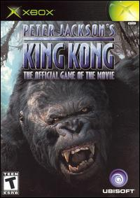 Caratula de Peter Jackson's King Kong: The Official Game of the Movie para Xbox