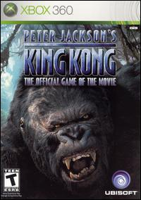 Caratula de Peter Jackson's King Kong: The Official Game of the Movie para Xbox 360