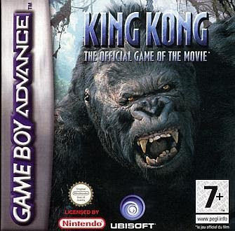 Caratula de Peter Jackson's King Kong The Official Game of the Movie para Game Boy Advance