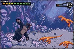 Pantallazo de Peter Jackson's King Kong The Official Game of the Movie para Game Boy Advance