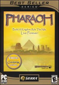 Caratula de Pharaoh [Best Seller Series] para PC