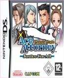 Carátula de Phoenix Wright : Ace Attorney Justice For All