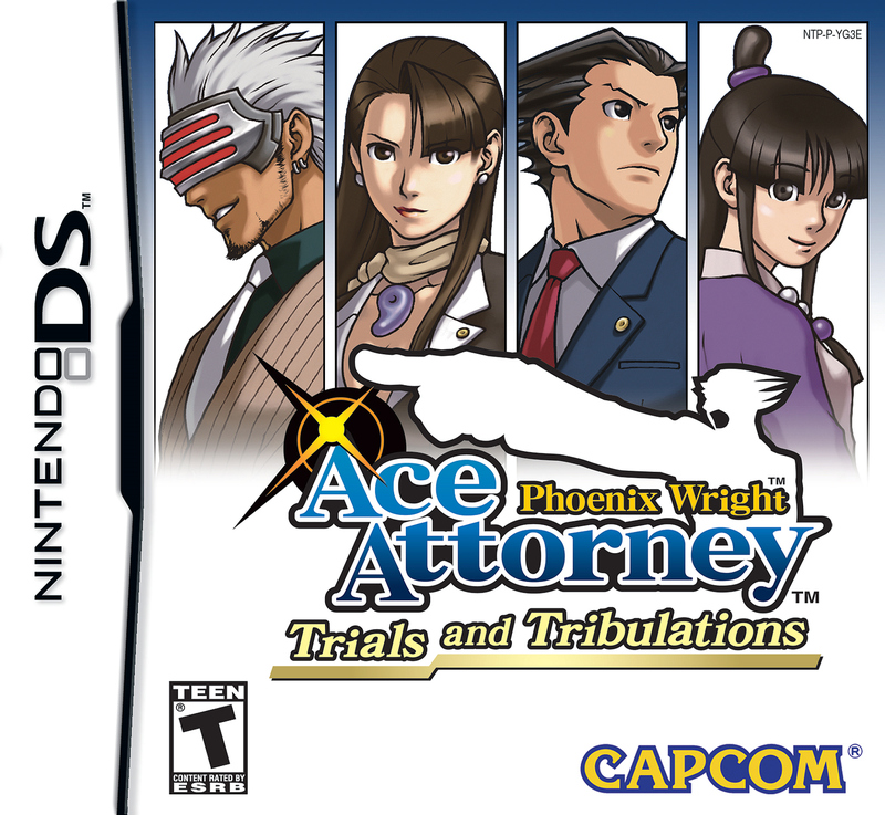 Caratula de Phoenix Wright Ace Attorney: Trials and Tribulations para Nintendo DS