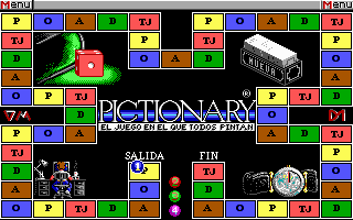 Pantallazo de Pictionary: The Computer Edition para PC