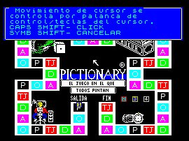 Pantallazo de Pictionary para Spectrum