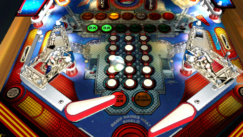 Pantallazo de Pinball Hall of Fame - The Williams Collection para PSP
