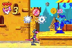 Pantallazo de Pink Panther: Pinkadelic Pursuit para Game Boy Advance