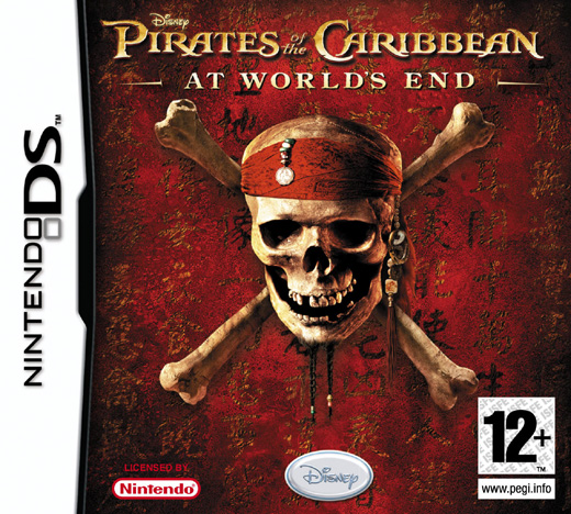 Caratula de Pirates of the Caribbean: At Worlds End para Nintendo DS