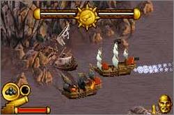 Pantallazo de Pirates of the Caribbean: The Curse of the Black Pearl para Game Boy Advance