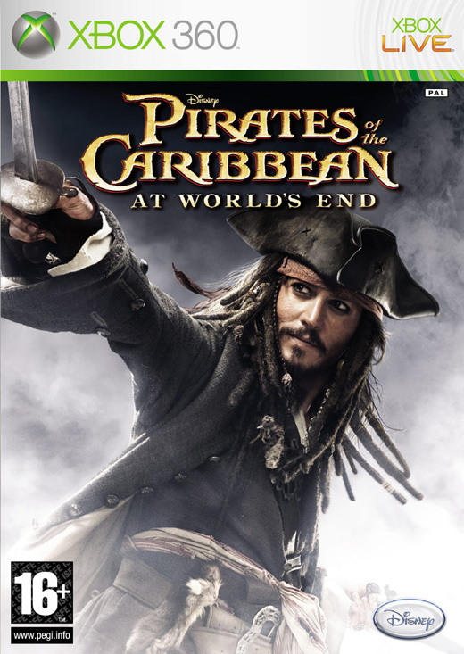 Caratula de Pirates of the Caribbean 3 : At World's End para Xbox 360