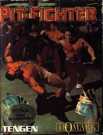 Caratula de Pit-Fighter para Spectrum
