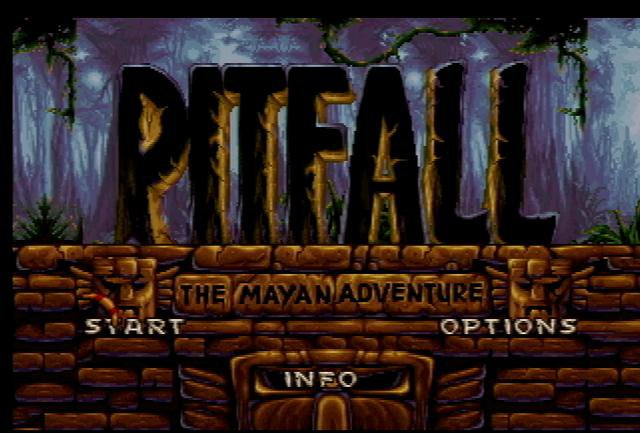 Pantallazo de Pitfall: The Mayan Adventure para Atari Jaguar