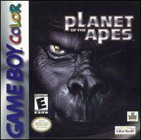 Caratula de Planet of the Apes para Game Boy Color