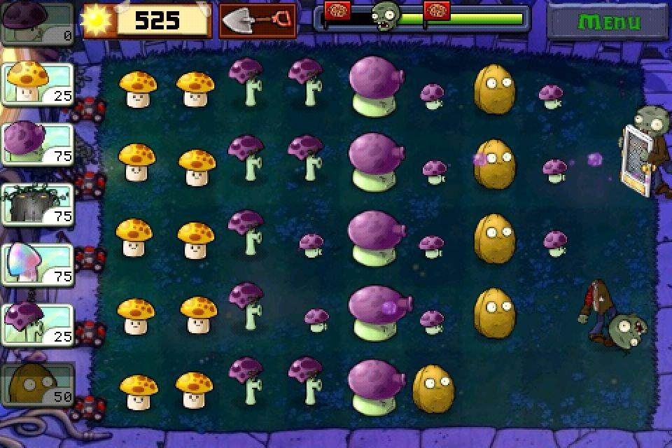 Pantallazo de Plants vs. Zombies para Android