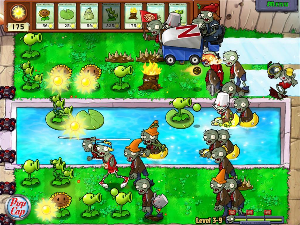 Plants vs zombies pc pantallazo n 203858 5 de 11 juegomania org