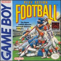 Caratula de Play Action Football para Game Boy