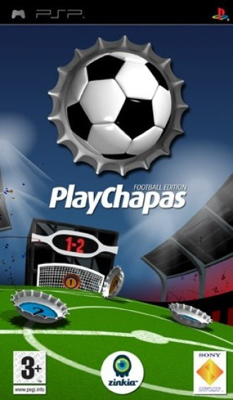 Caratula de PlayChapas Football Edition para PSP