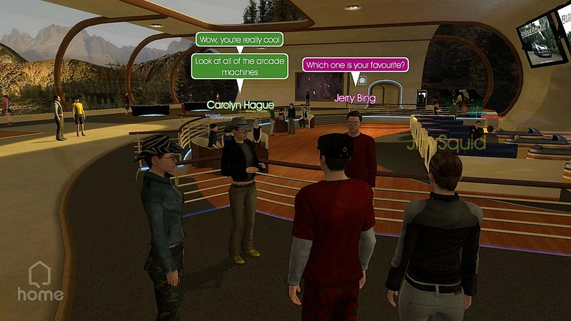 Pantallazo de PlayStation Home para PlayStation 3