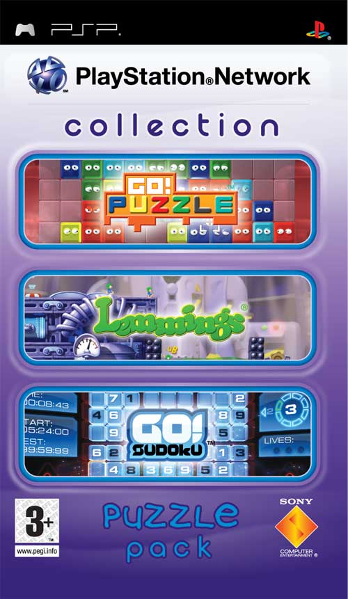 Caratula de PlayStation Network Collection: Puzzle pack para PSP