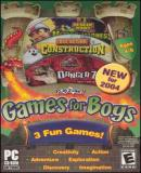 Carátula de PlayZone! Games for Boys [2004]