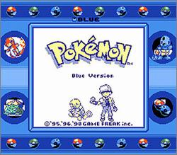 Pantallazo de Pokémon: Blue Version para Game Boy